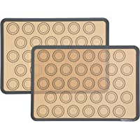 AmazonBasics Silicone Macaron Baking Mat - 2-Pack