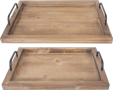 Rustic Food Trays From Besti