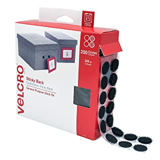 """VELCRO Brand Dots with Adhesive Black 