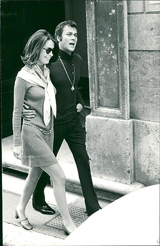 Amazoncom Vintage Photo Of Tony Curtis And Leslie Allen