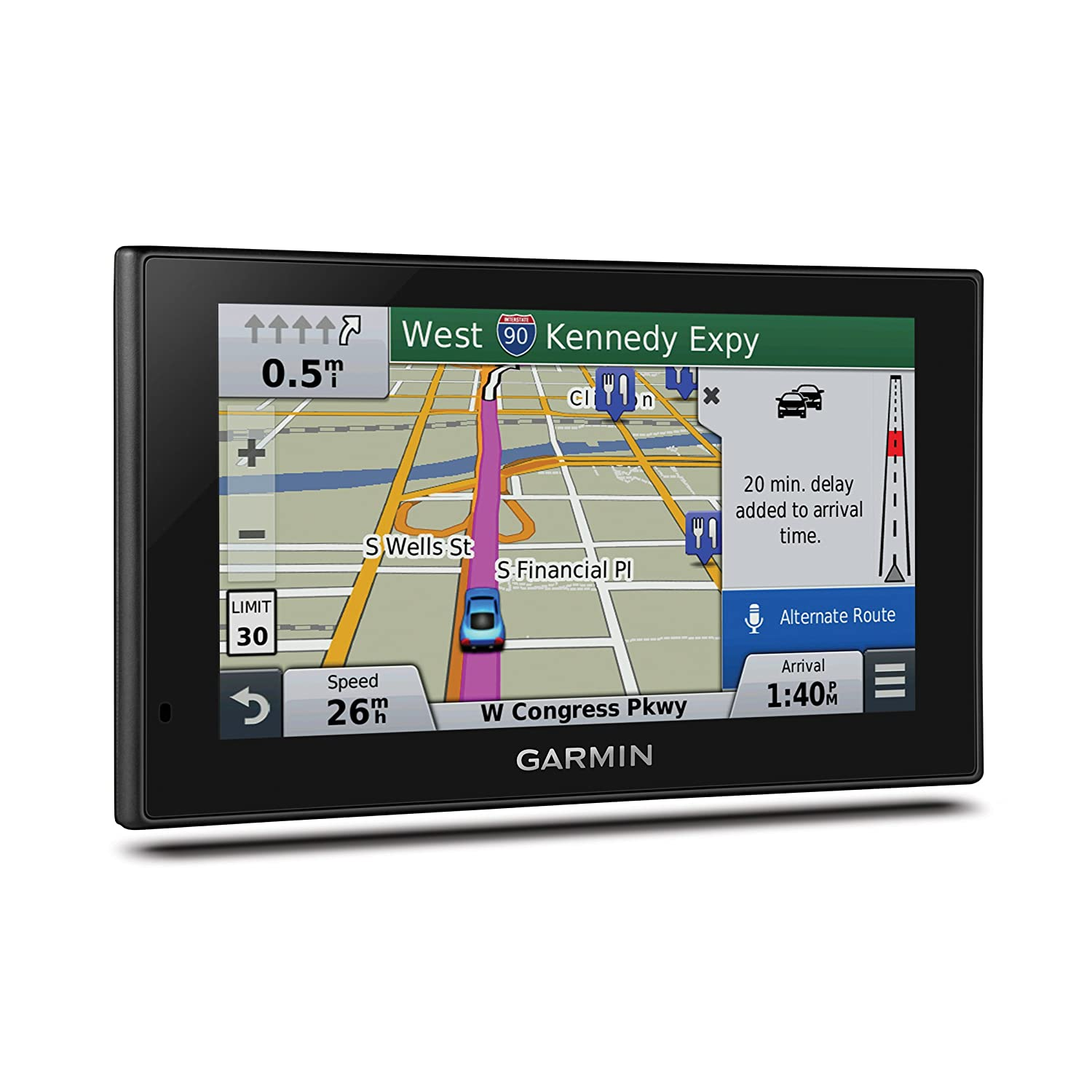 amazon com garmin n vi 2789lmt 7 inch portable bluetooth vehicle rh amazon com Garmin 255W Lifetime Map Updates Garmin Nuvi 255W GPS