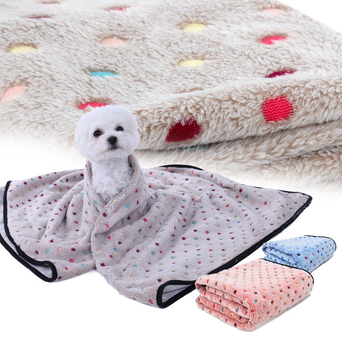Amazon.com: Manta para perro, tela de forro polar, suave y ...