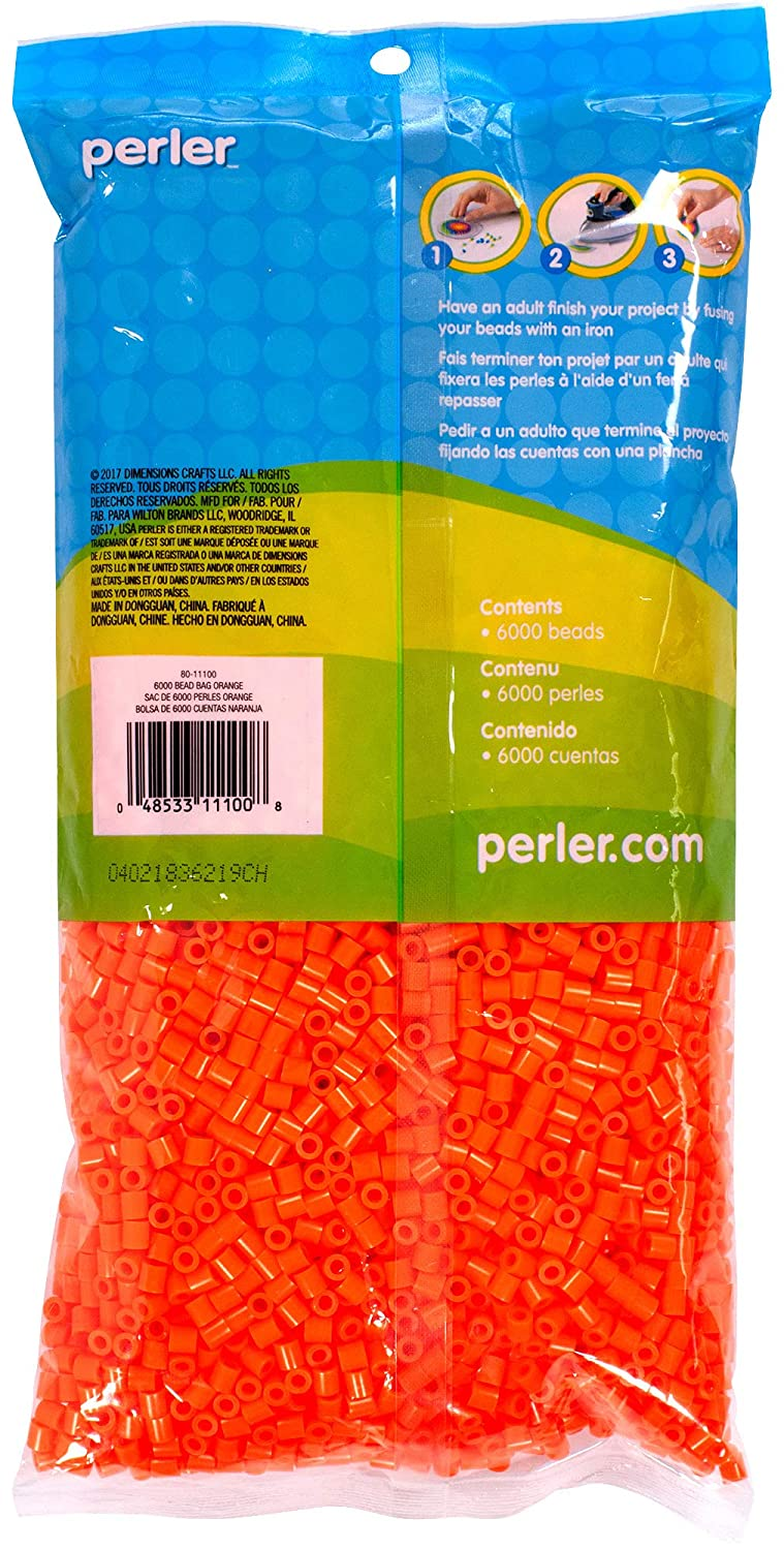 6000pcs Gray Perler Beads Fuse Beads for Crafts