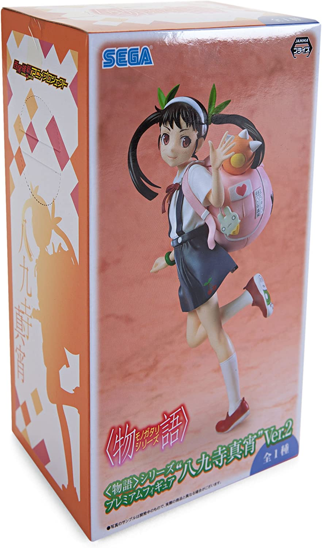 Figura Estatua Colección 19cm HACHIKUJI MAYOI Saludo VERSIÓN 2.0 de MONOGATARI Original Sega Japón: Amazon.es: Juguetes y juegos