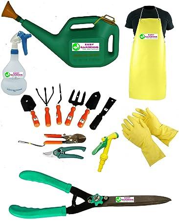 Easy Gardening - Mega Garden Tools Set (Essential 14 Garden Tools Kit)