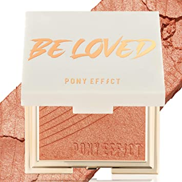 Amazon Com Pony Effect Coral Flare Blush Limited Edition Beloved Smooth And Shimmery Powder Blush K Beauty Beauty