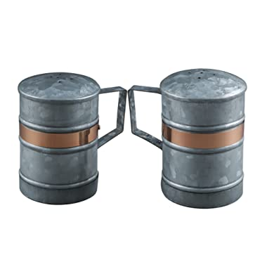 Thirstystone ncil056 Salt & Pepper Shakers, One Size, Silver