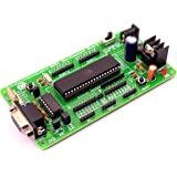 Silicon TechnoLabs ATMEL 8051 Project Development Board On-Board AT89S52,MAX232 Support AT89SXX,P89V51RD2,SST89E516RD