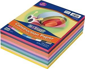 Pacon Lightweight Super Value Construction Paper P6555-4, 9