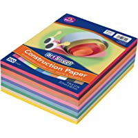 "Art Street Lightweight Construction Paper, 10 Assorted Colors, 9"" x 12"", 500 Sheets"