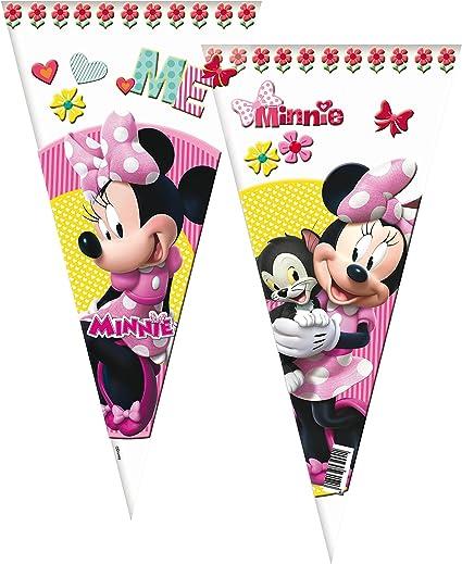 Verbetena, 014001131, pack 6 bolsas conos disney minnie mouse ...