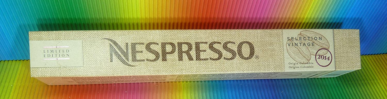 Amazon.com : Nespresso Selection Vintage Origin Colombia 2014 1 ...