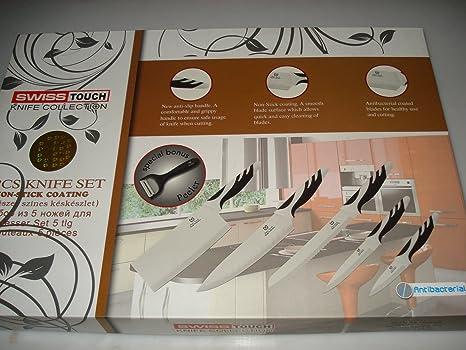 Set de cuchillos acero inoxidable: Amazon.es: Hogar