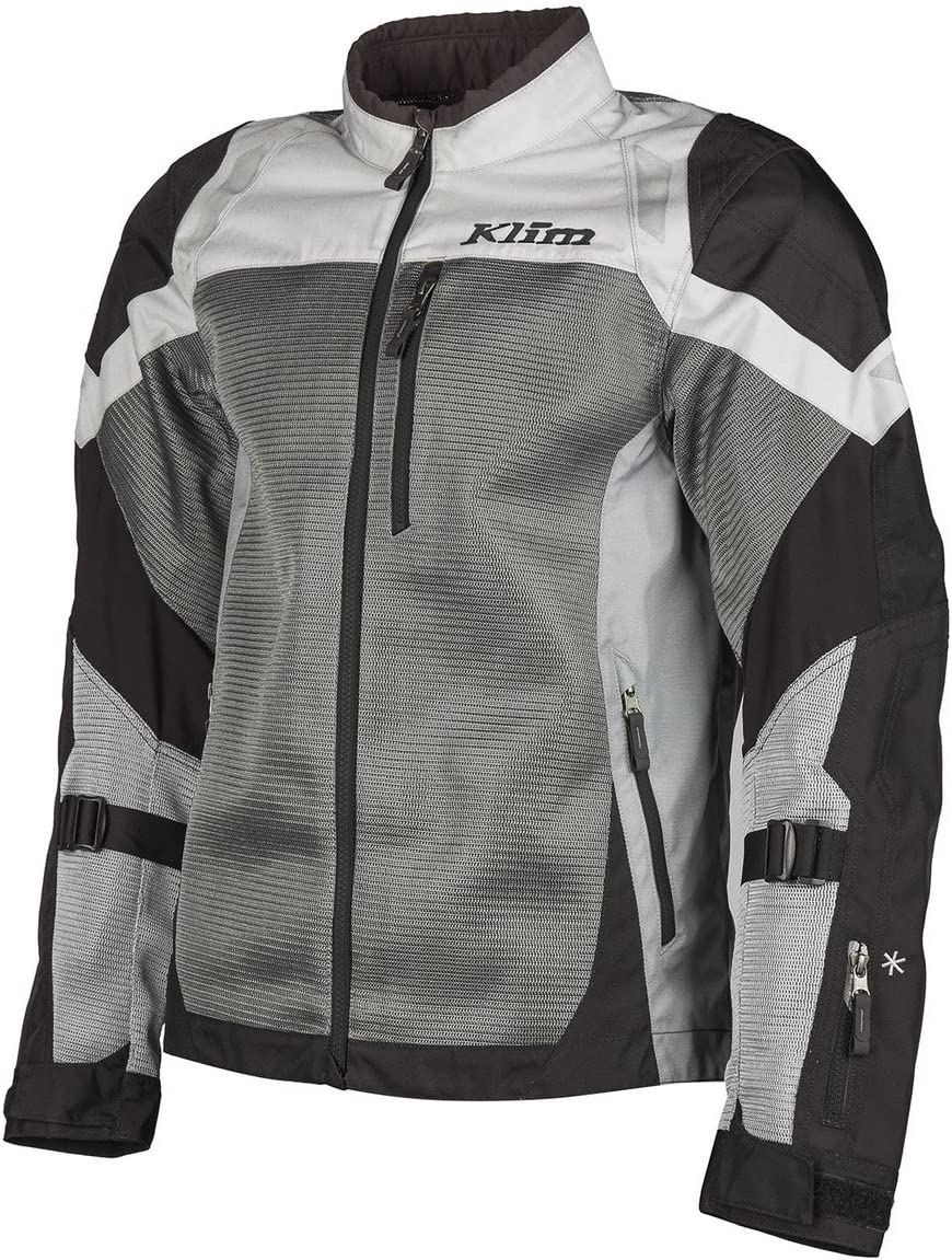 Crux Motorcycle Leather Jacket White Black Men Women CE Approved Protections 1