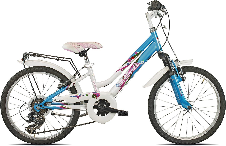 Carratt 636 Joy, Bicicleta Bimba, Blanco/Azul, 20: Amazon.es ...