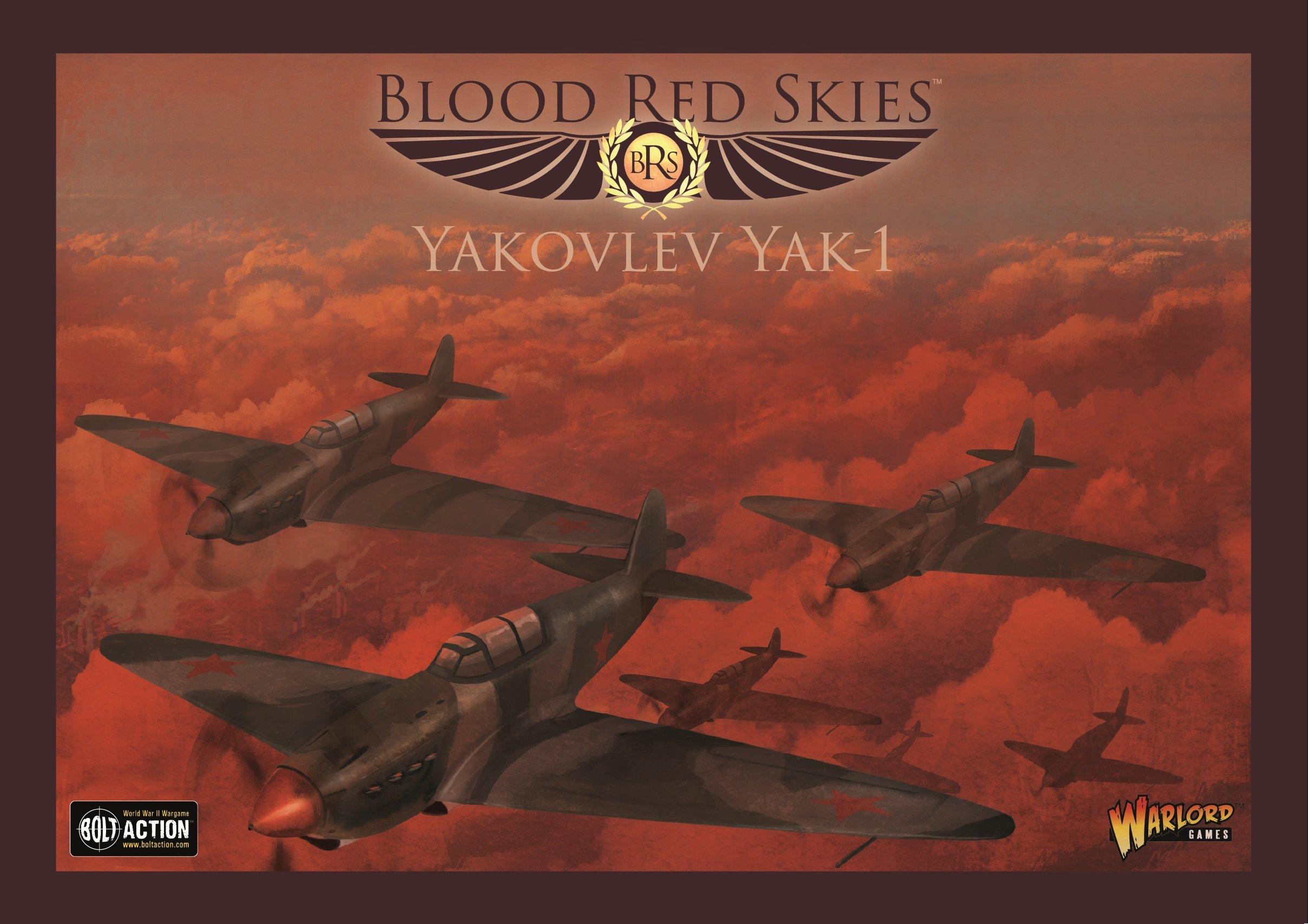 Warlord Games, Blood Red Skies - Yakovlew Yak-1 - Air Combat Game Miniatures