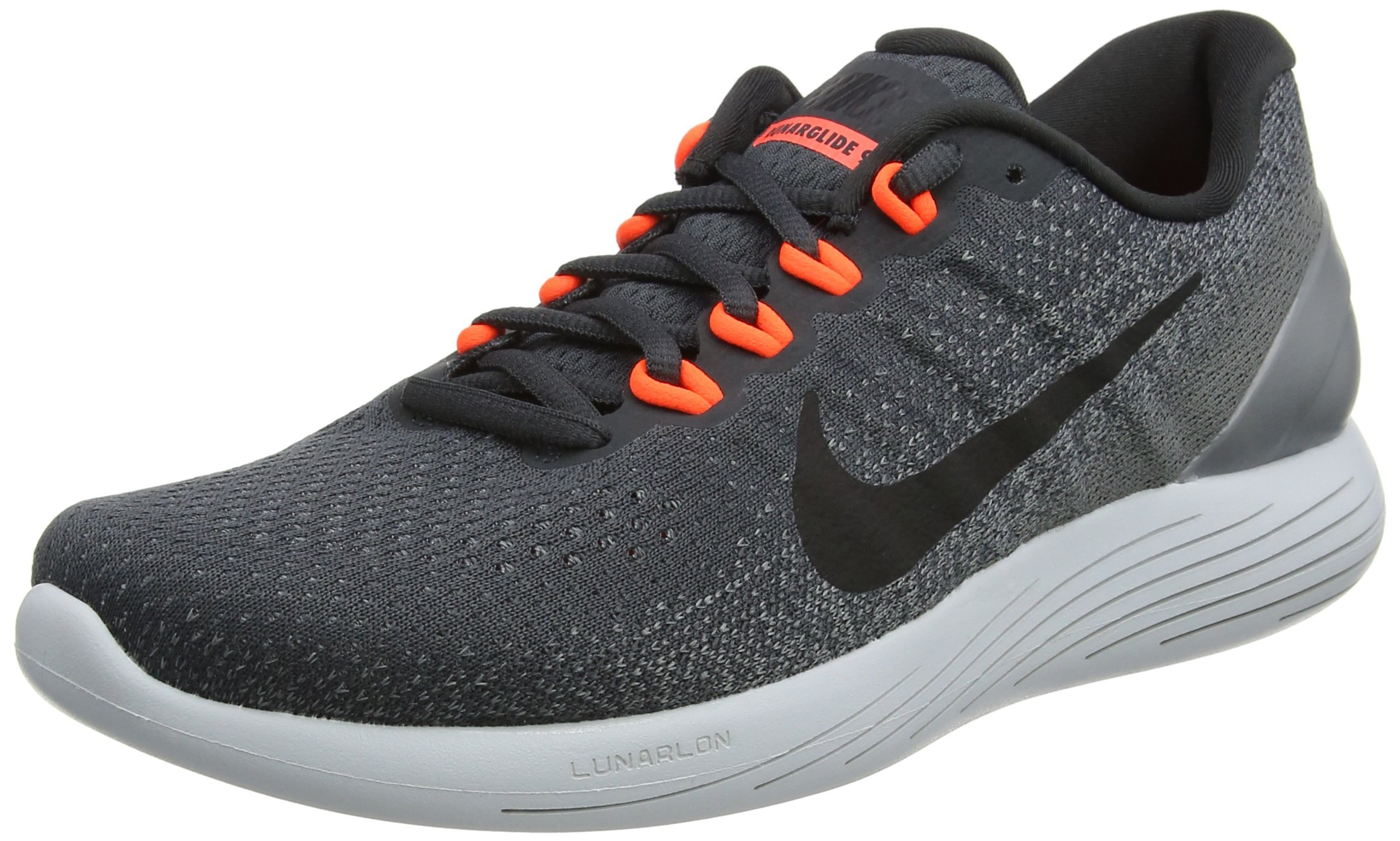 aac11c8c66c Galleon - Nike Lunarglide 9 Anthracite Black Cool Grey Total Crimson Men s Running  Shoes Size 9