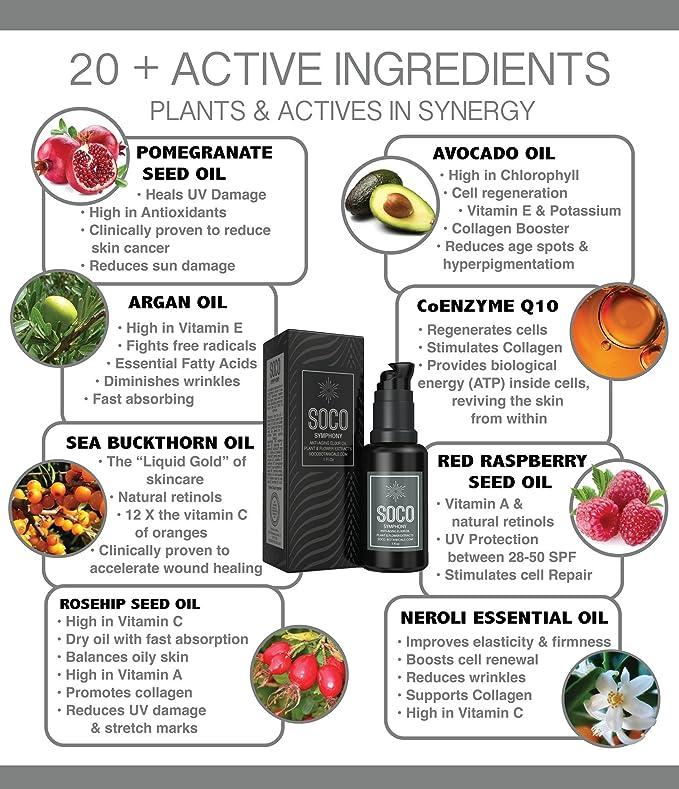 Organic Anti Aging Oil Serum - Exquisite Essential Oil Blend for