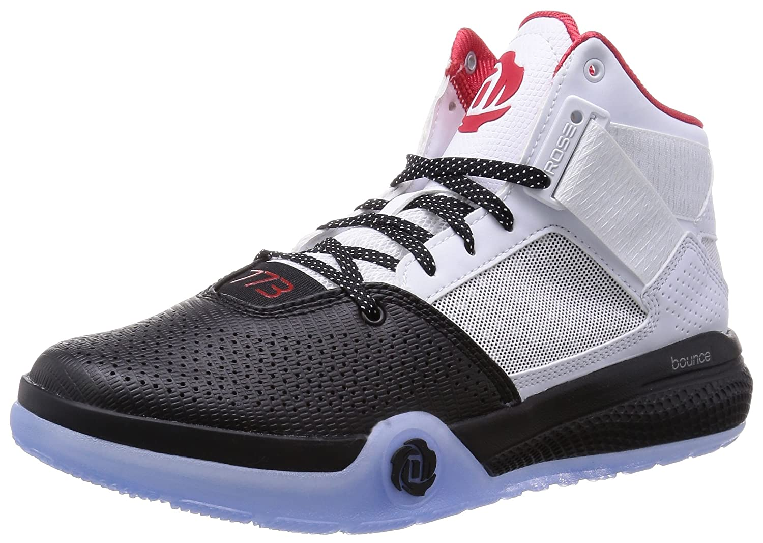 7538f75e805 ... ireland amazon adidas d rose 773 iv d69433 color white black red size  9.0 fashion sneakers ...