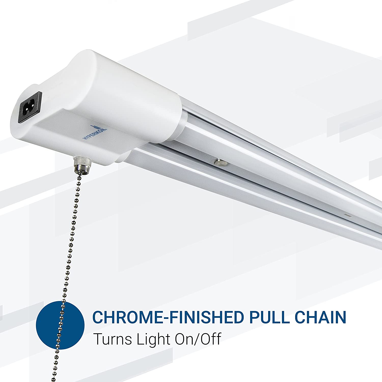 The Hyperikon LED garage lights provide long life, high performance and energy savings in a simple fixture.