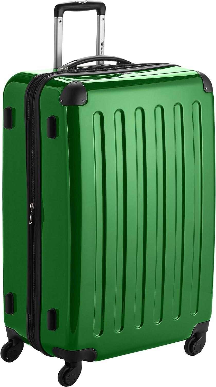 Hauptstadtkoffer Alex, Maleta a Mano Rígida, Verde (Green), 75 cm