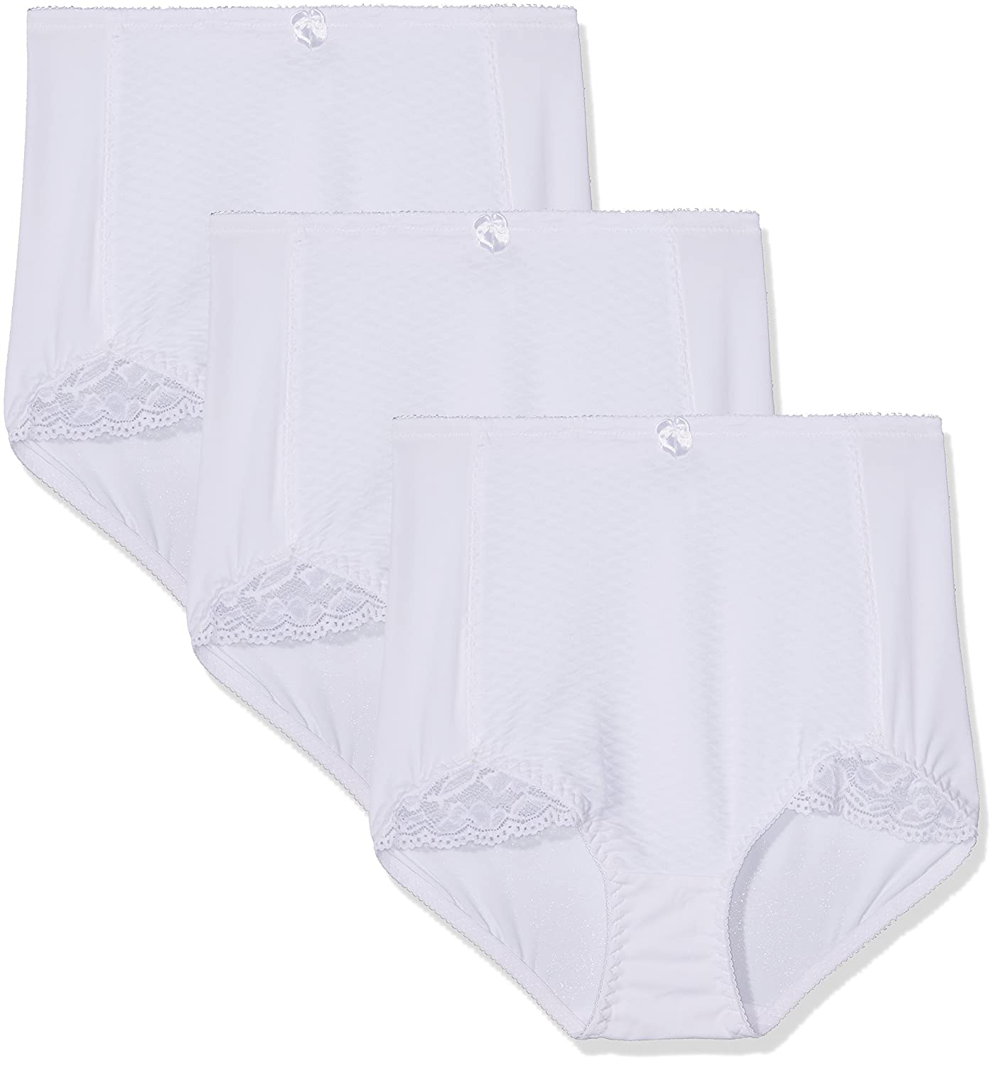 FM London Women's Light Control Briefs Knickers Pack of 3 LCBRIEF