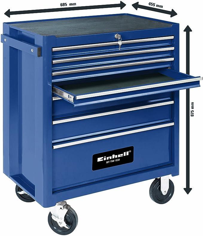 Einhell BT-TW 150 - cajas de herramientas (Azul): Amazon.es ...