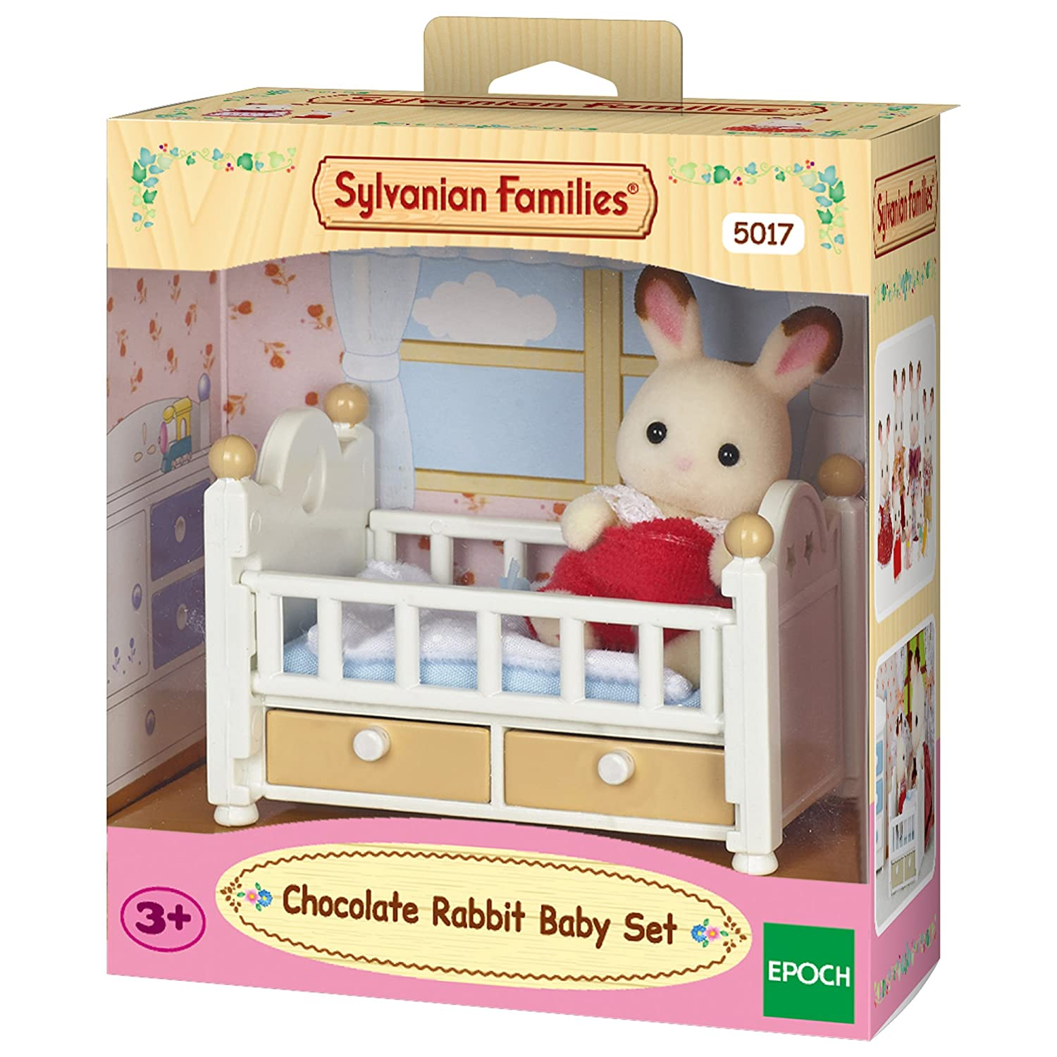 Sylvanian Families Chocolate Rabbit Baby Set Epoch 5017