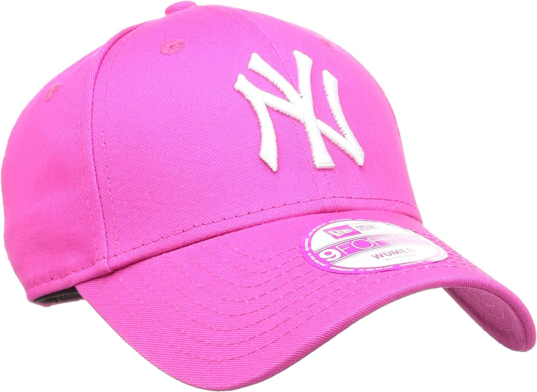 New Era Fashion ESS 940 Gorra, Mujer, Rosa/Blanco, Talla Única ...
