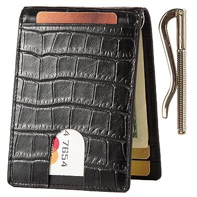 Lethnic Slim Money Clip Wallet af783a64cd3f