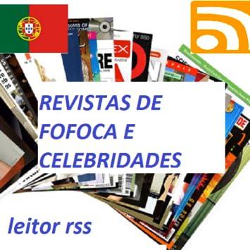 Revistas de fofocas leitor RSS