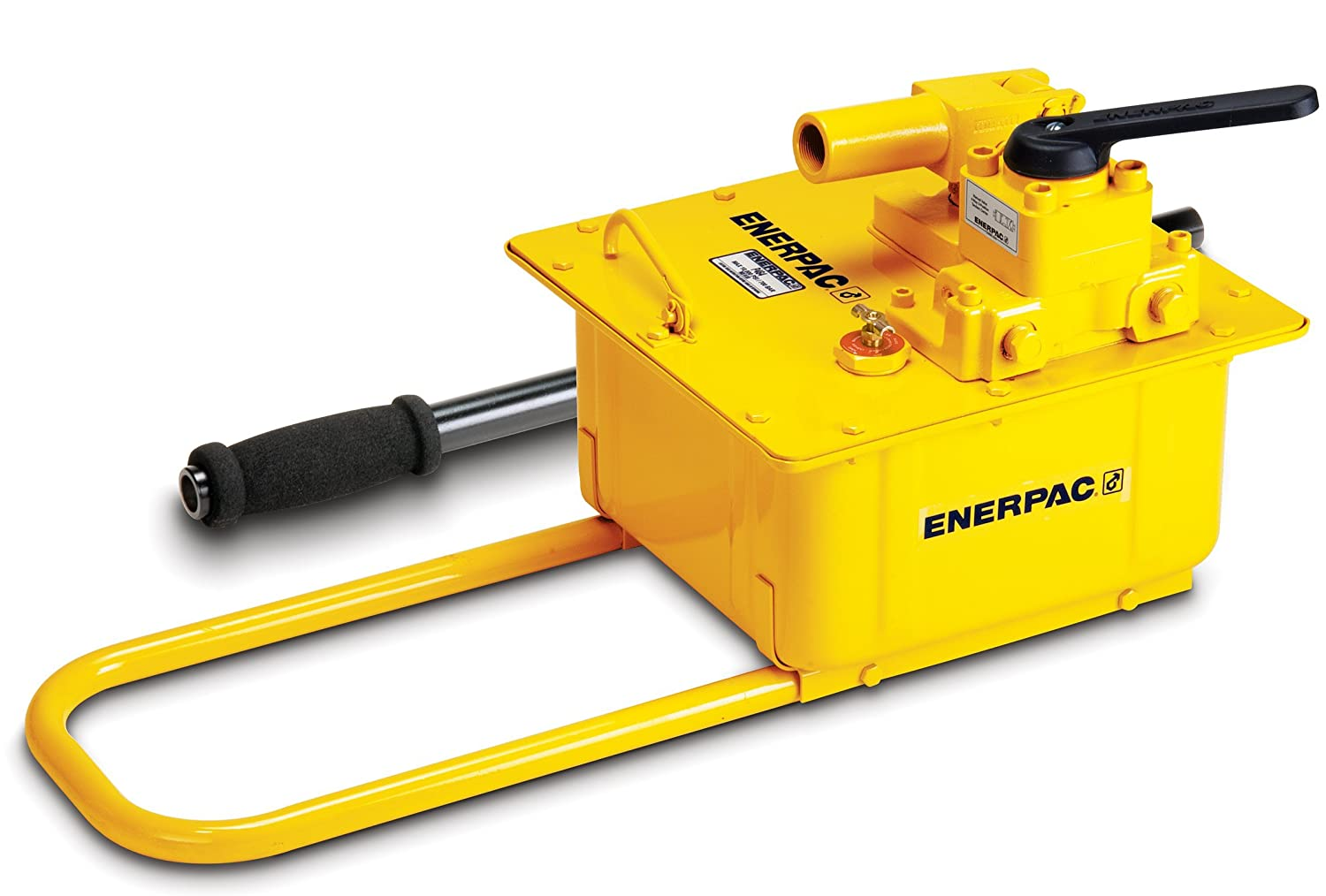 Enerpac P-462 2 Speed Steel Hand Pump with 110 Pound Maximum Handle Effort