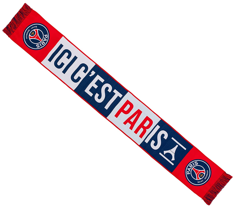 PARIS SAINT GERMAIN Echarpe PSG Collection Officielle Football Taille 138 cm