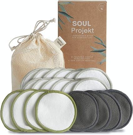 Soul Projekt x 20 Discos Desmaquillantes Reutilizables ...