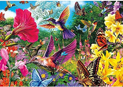 Full Drill Flower Birds 5D Diamond Painting Embroidery Cross Stitch Kits DIY