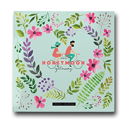a23bda63e3 Amazon.com  Pillow   Toast Honeymoon Travel Journal