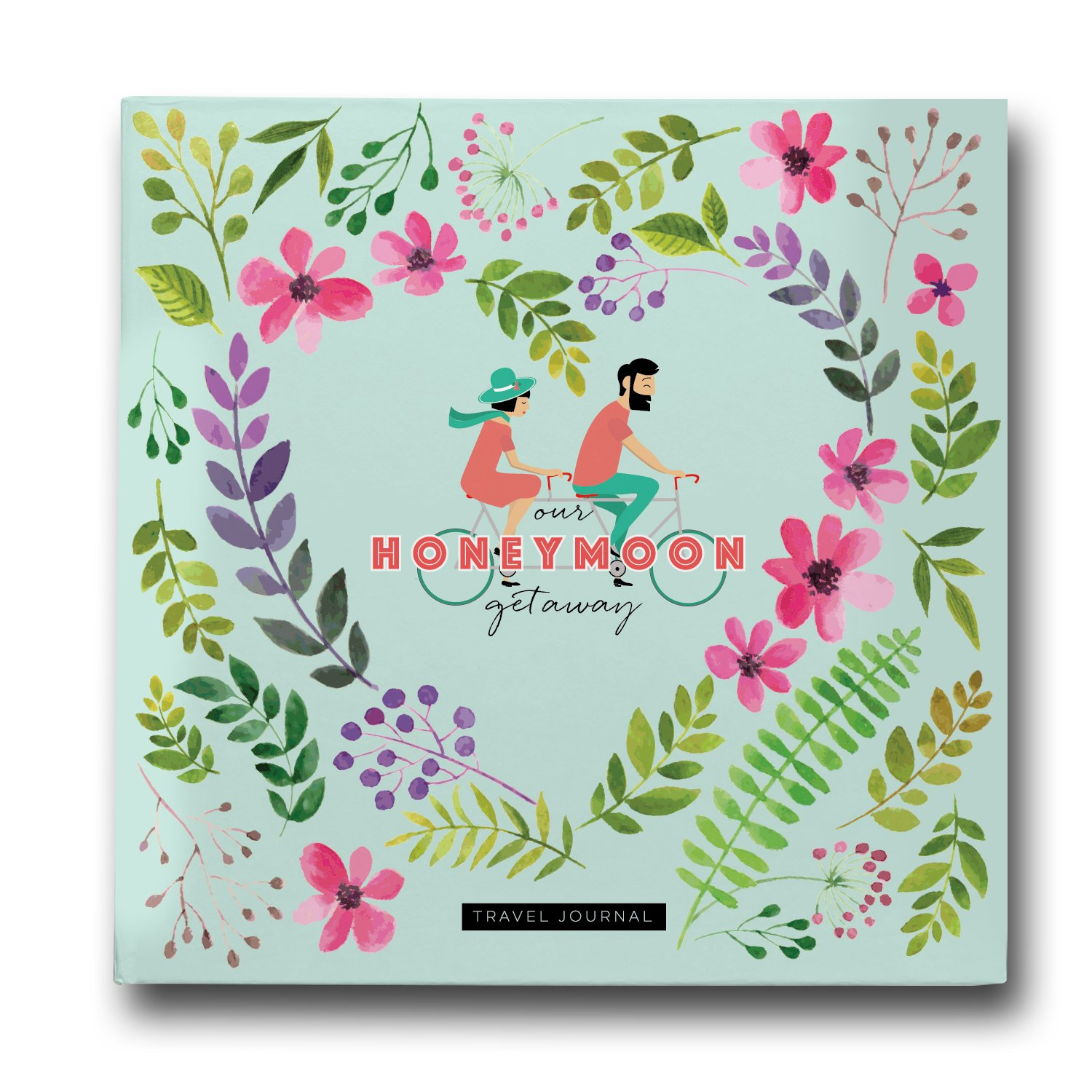 Pillow & Toast Honeymoon Travel Journal, Record-Book Trip Together, Save All Experiences On This Memory Album, A Just Married Present or Gift Like No Other for Him and Her.
