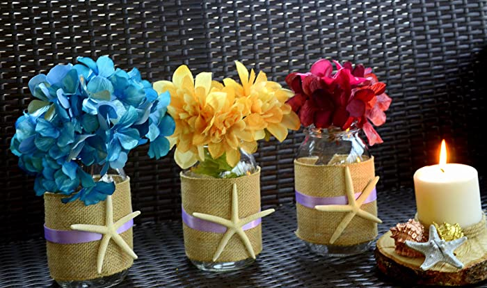 Amazon Com Mason Jar Wedding Baby Shower Decorations Rustic