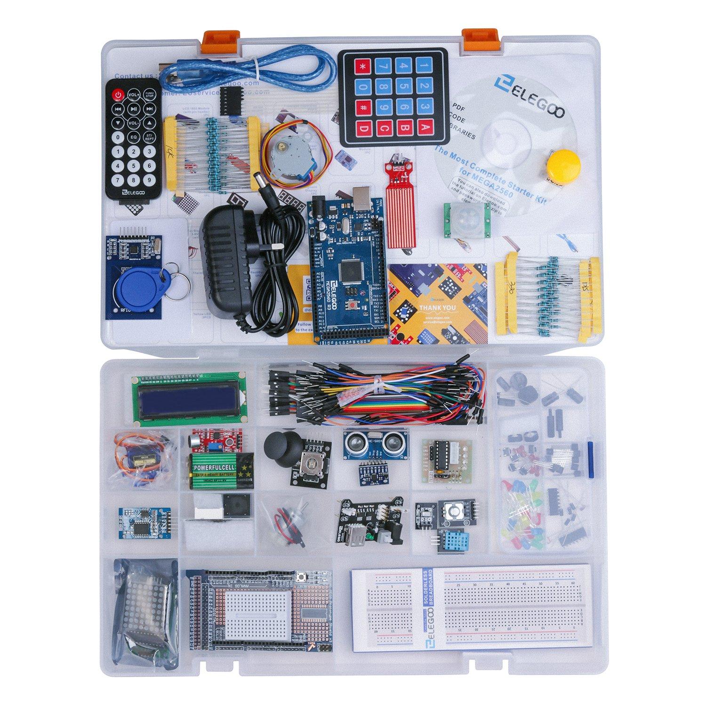 Elegoo Mega 2560 Project Die Vollstndige Computer Zubehr Breadboard Power Supply Kit 5v 33v Quickstart Guide Sparkfun