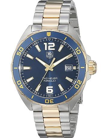 e148104c47a TAG Heuer Men's WAZ1120.BB0879 Formula 1 Analog Display Swiss QuartzTwo  Tone Watch