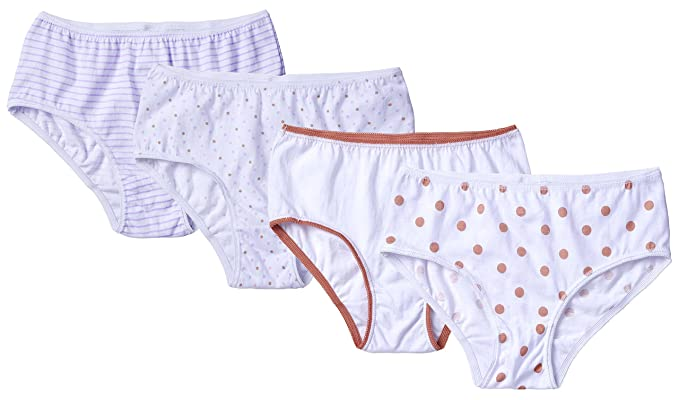 c78b78b863b Sportoli Girls Ultra Soft 100% Cotton White and Assorted Colors Panties -  Assorted (Size
