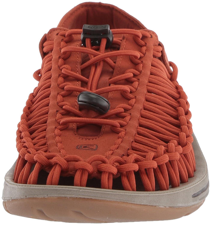 KEEN Men's Uneek Sandal B0722875QG 10.5 D(M) US|Potters Clay/Mulch