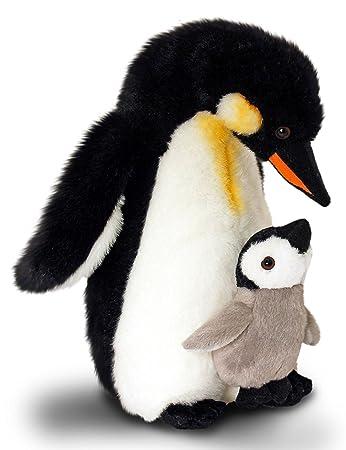 Plüschtier Höhe ca. 30cm Kuscheltier Pinguin Stofftier Kaiserpinguin