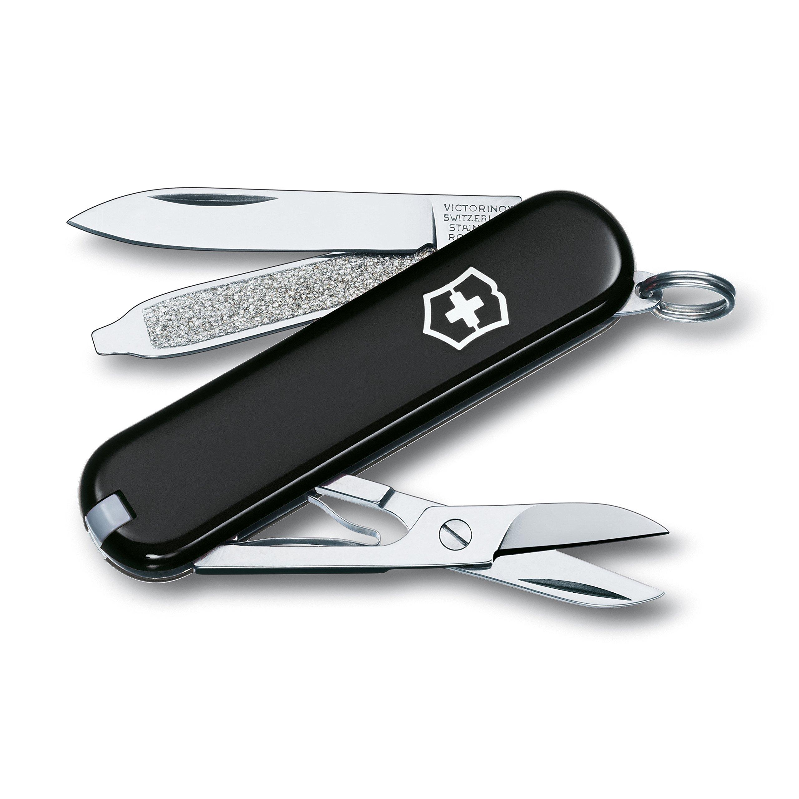 Victorinox Swiss Army Classic SD Pocket Knife, Black, 58mm by Victorinox