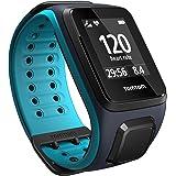 TomTom Runner 2 Cardio + Music - Montre GPS - Bracelet Large Bleu Marine / Turquoise (ref 1RFM.001.01)