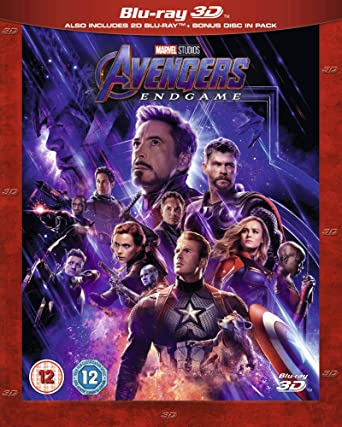 Amazon com: Avengers Endgame [Blu-ray + 3D] [2019] [Region