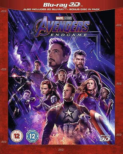 Avengers Endgame 3D [Italia] [Blu-ray]: Amazon.es: Cine y Series TV