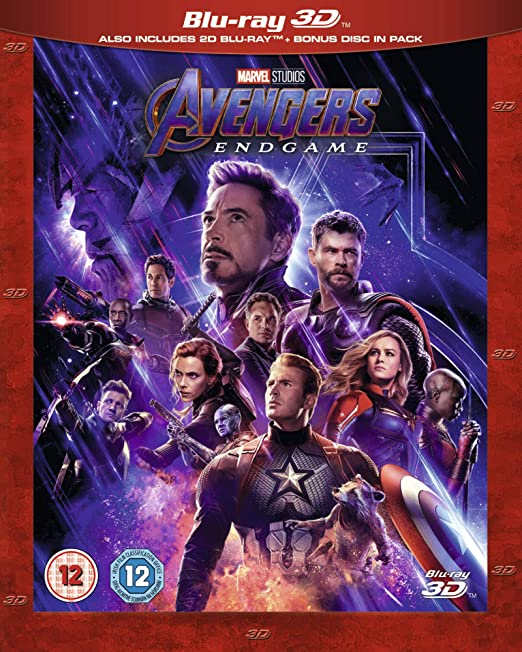 Avengers Endgame 3D [Italia] [Blu-ray]: Amazon.es: Cine y Series TV