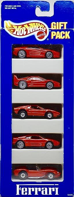 Amazon.com: 1993 - Mattel - Hot Wheels - Ferrari Gift Pack - 5 ...