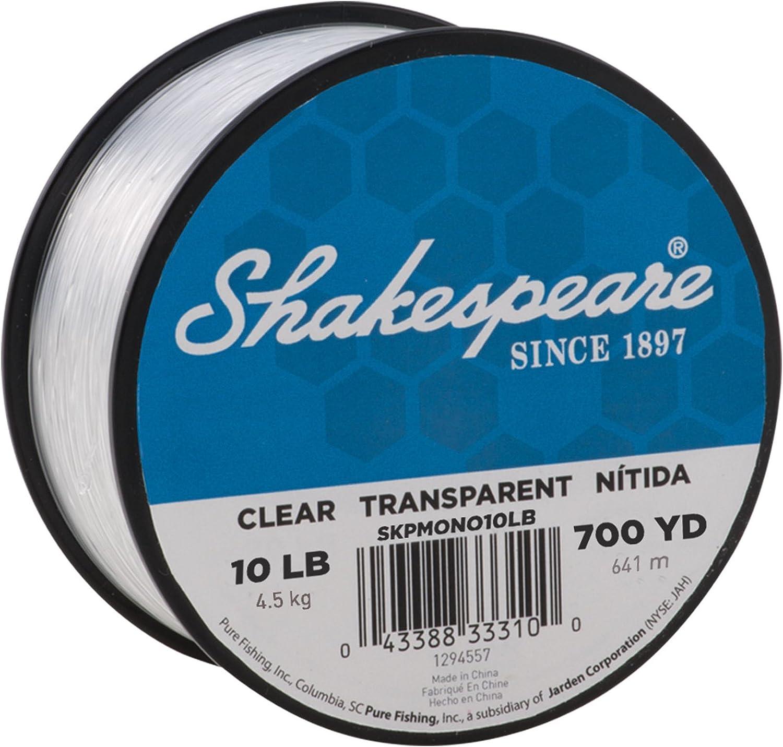 Shakespeare Beta Monofilament Ligne De Pêche 100 m Clair Tous Briser souches